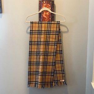 Burberry Shetland Wool Scarf